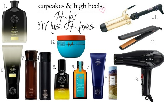 hair must haves
